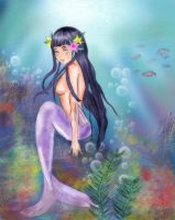 Hinata Mermaid edit by mysterio1274