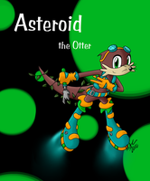 Asteroid the Otter by moni563