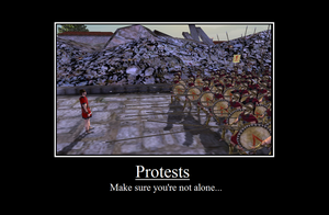 Protests by Shadowfang3000