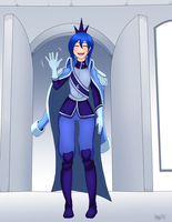 Yet another humanized Luna by AmonZone