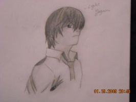Light Yagami Drawing by StaticFOOL100