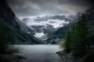 Lake Louise, Alberta in Fall by skip2000
