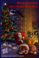 Donald Christmas by CarlosMota
