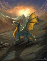3d2dizayn hatice character illustrations Dragon 01 by eydii