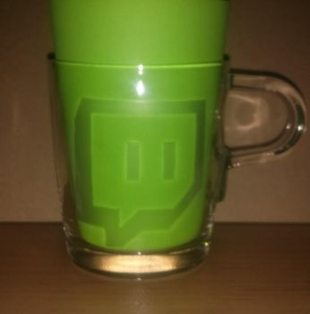 Etched Glass Mugs: Twitch.tv by In54nity