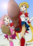 Sailor Moon and Mini Moon POV by ArthurT2015