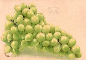 Grapes by Marurun