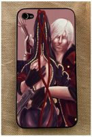 Dante and Bayonetta iPhone case_sample by pandatails