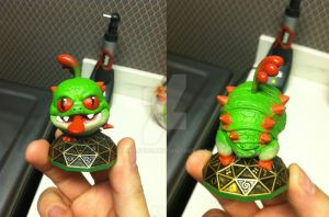 Skylanders: Custom Tree Frog Wrecking Ball by neilsugg