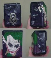 Leather Joker Deck Box by MurdocsLuver