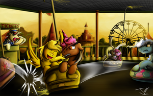 Fanart - MLP. Ticket's Fun Time by jamescorck
