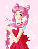 Chibiusa Sad Color by Shinta-Girl