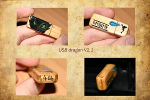 USB dragon by Technojunk12