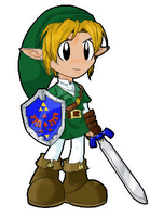 Chibi Link by LilCatAnime