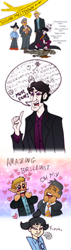 Sherobbie Holmes - The Science of Derpduction by LadyKeane