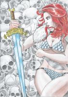 Red Sonja by BobBobuszko