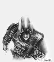 Assassin's Creed Altair by AnanyaArts