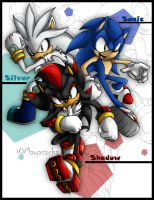 ::The Three Hedgehogs:: by Mayasacha
