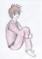 Kai in his Pajamas by queenoftheserpentine