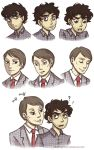 Will and Hanni sketches by Tenshi-no-Hikari