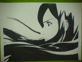 Orihime Stencil by NikNacks