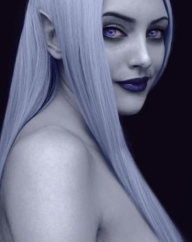 Dark Elf by DoneItAgain