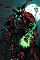 Spawn COLOR WIP 04 by RobDuenas