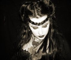 Silence 4- old fashion by dark-morrighan-stock