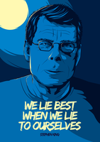 Stephen King Poster by SinewS
