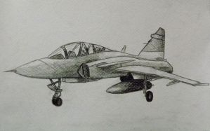 Jas-39 by sudro