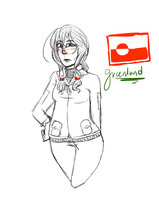 [APH] Greenland OC by Russane