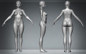 Female Anatomy by HeV3D