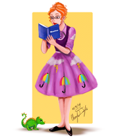 Miss Frizzle by Merina-Sky