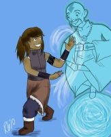 Korra- Avatar Aang and Me by muffinlover101
