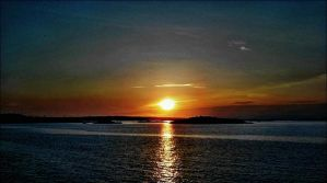 Sunrise May 12st In Archipelago jpg by eskile