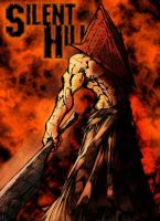 stalk's Pyramid Head by Deathring2000