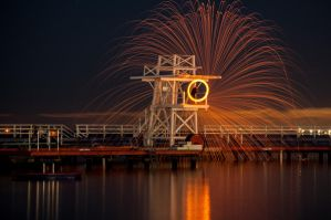 Steel wool Eastern Beach by DanielleMiner
