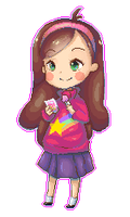 Mabel Pines by exjuice