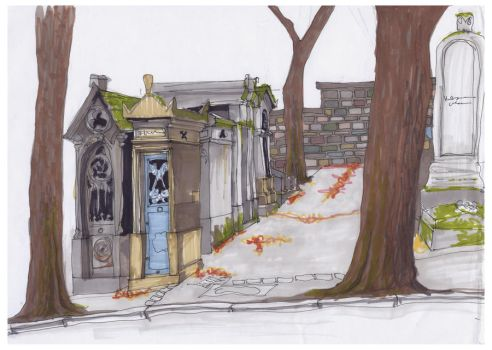 pere-lachaise by febe