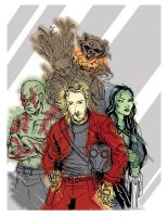 We're the Guardians, B*tch by TEhopefulcomicartist