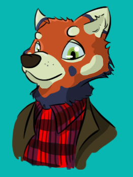 Konrade the Red Panda by Smokorys