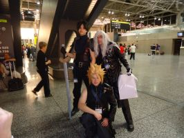 Final fantasy VII cosplay by Sinta54
