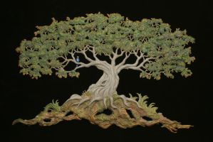 tree of life by RandyHand