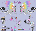Treble Reference Sheet 2017 by Treblematic