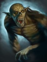 Goblin portrait by Slange5