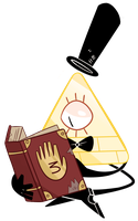 light reading [ springtime collab ] by WDisneyRP-BillCipher