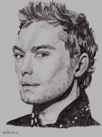 Jude Law by JazIllustrations
