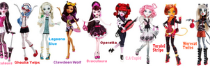 My Doll Collection by DesuPanda98