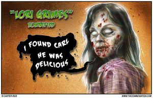 Lori Grimes Zombified by zombiecarter