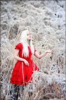 Red Snow by JustMoolti